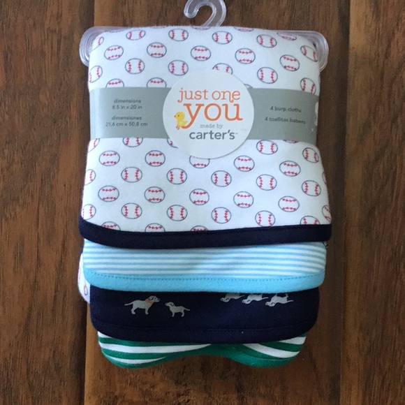 Carter S Accessories Just One You Br Carters Burp Cloths Poshmark